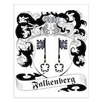 Falkenberg Family Crest Small Poster