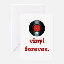 vinyl forever Greeting Cards (Pk of 20)