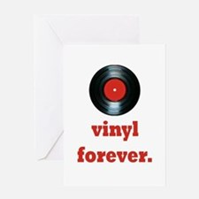 vinyl forever Greeting Card