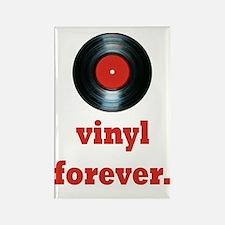 vinyl forever Rectangle Magnet