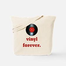 vinyl forever Tote Bag