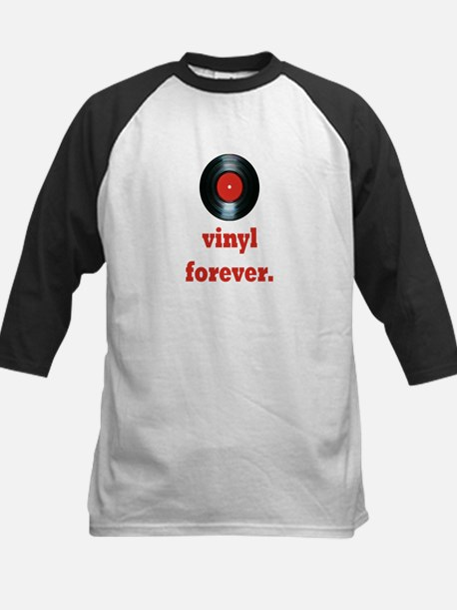 vinyl forever Kids Baseball Jersey