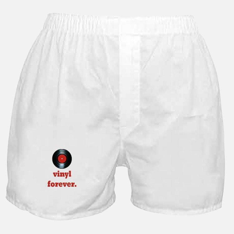 vinyl forever Boxer Shorts