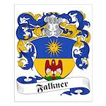 Falkner Family Crest Small Poster