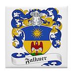 Falkner Family Crest Tile Coaster