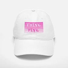 Think Pink Ombre Baseball Baseball Cap