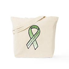 Am Staff Ribbon D Tote Bag