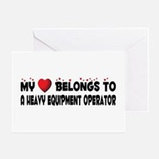 Belongs To A Heavy Equipment Operator Greeting Car