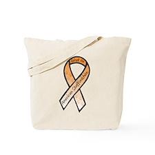 Am Staff Ribbon E Tote Bag
