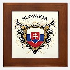 Slovakia Framed Tile