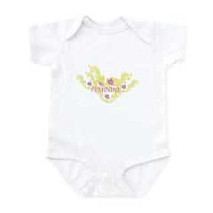 FEMININE FEEL Infant Bodysuit