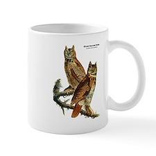 Audubon Great Horned Owls Mug