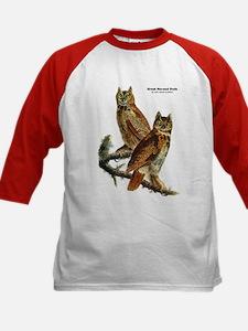 Audubon Great Horned Owls (Front) Tee
