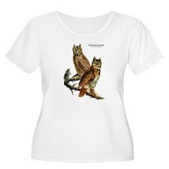 Audubon Great Horned Owls T-Shirt