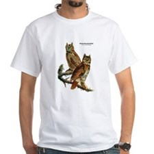 Audubon Great Horned Owls (Front) Shirt