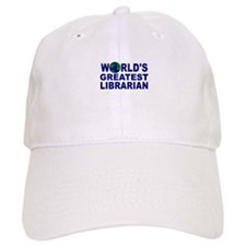 World's Greatest Librarian Baseball Cap