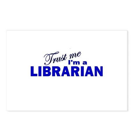Trust Me I'm a Librarian Postcards (Package of 8)