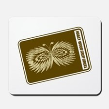 Hailey Wood Butterfly Crop Circle Mousepad