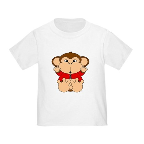 One Year Old Monkey Toddler T-Shirt