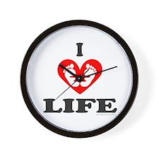PRO-LIFE CHRISTIAN Wall Clock