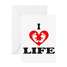 PRO-LIFE CHRISTIAN Greeting Card