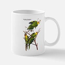 Audubon Carolina Parakeet Birds Mug