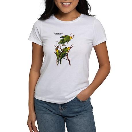 Audubon Carolina Parakeet Birds Women's T-Shirt