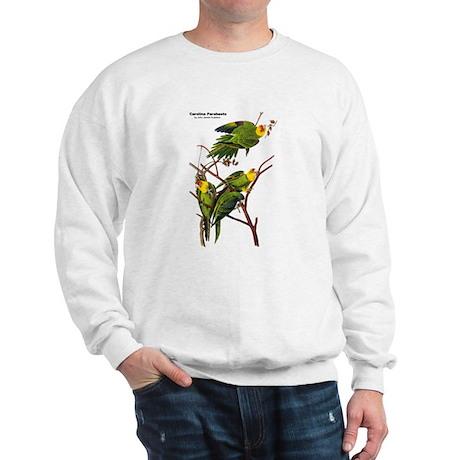 Audubon Carolina Parakeet Birds Sweatshirt