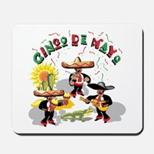 Cinco de Mayo Band Mousepad