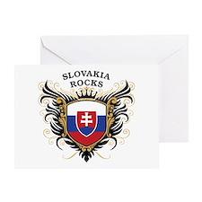 Slovakia Rocks Greeting Card