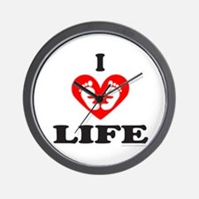 PRO-LIFE/RIGHT TO LIFE Wall Clock