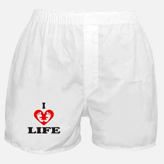 PRO-LIFE/RIGHT TO LIFE Boxer Shorts