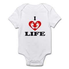 PRO-LIFE/RIGHT TO LIFE Infant Bodysuit
