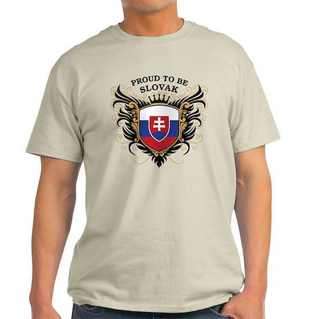 Proud to be Slovak Light T-Shirt