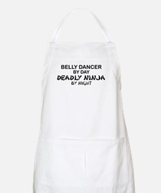Belly Dancer Deadly Ninja BBQ Apron