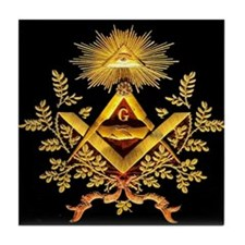 Freemason Tile Coaster