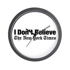 I Don't Believe The New York Times Wall Clock