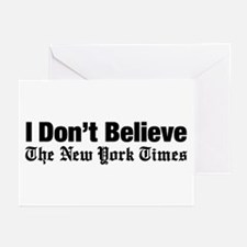I Don't Believe The New York Times Greeting Cards