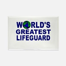 World's Greatest Lifeguard Rectangle Magnet