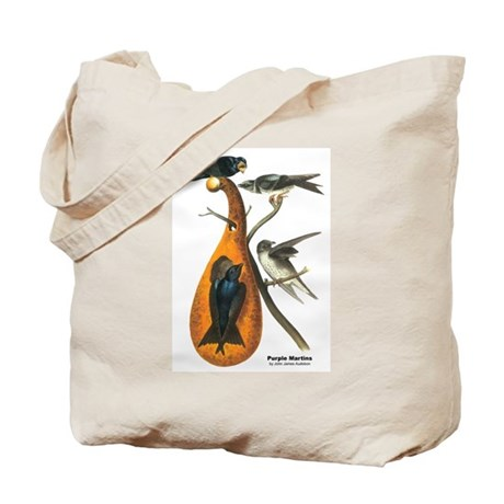 Audubon Purple Martins Bird Tote Bag