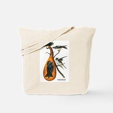 Audubon Purple Martins Bird Tote Bag
