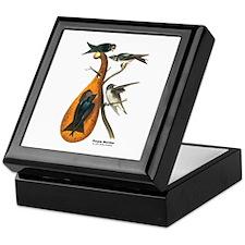 Audubon Purple Martins Bird Keepsake Box