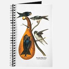Audubon Purple Martins Bird Journal