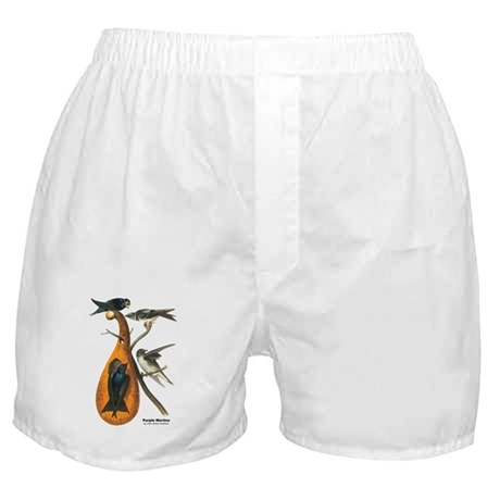 Audubon Purple Martins Bird Boxer Shorts