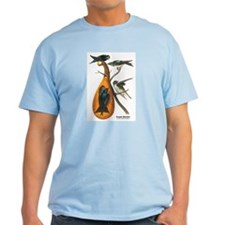 Audubon Purple Martins Bird T-Shirt