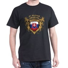 Number One Slovak Grandpa T-Shirt