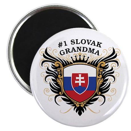 Number One Slovak Grandma Magnet