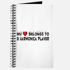 Belongs To A Harmonica Player Journal