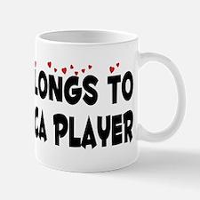 Belongs To A Harmonica Player Small Small Mug