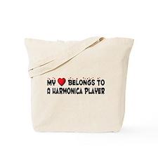 Belongs To A Harmonica Player Tote Bag